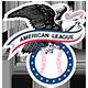 Logo de la ligue américaine de la MLB