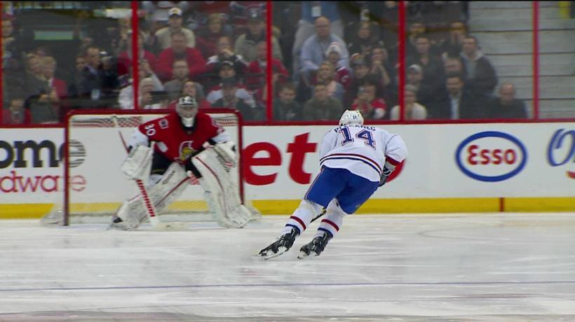 Tirs de barrage canadien s nateurs vid o for Decoration chambre hockey canadien